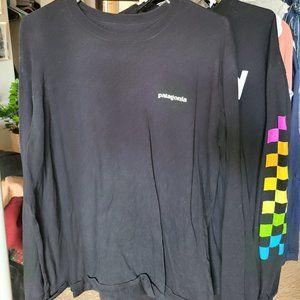 Patagonia Logo Long-Sleeve Responsibili-T-Shirt